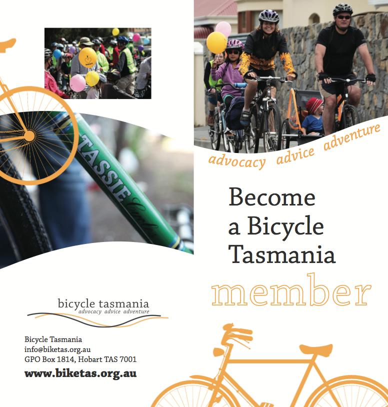 Become a member of Bicycle Tasmania | bicycletasmaniablog